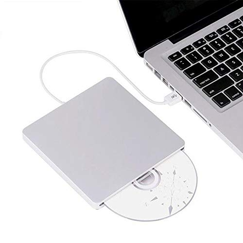 CAIZHIXIANG USB 3.0 Externes Blu-ray-Laufwerk DVD RW Brenner Writer 3D Blue-ray Combo BD-ROM-Player