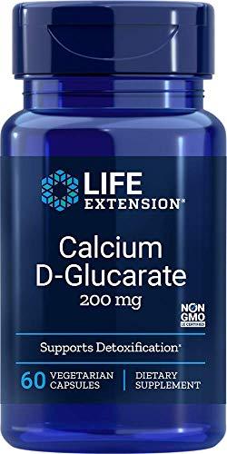 Life Extension, Calcium D-Glucarat, 200 mg, 60 vegane Kapseln, sojafrei, glutenfrei