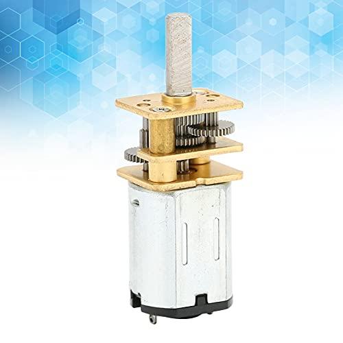 Motor De Corriente Continua, Motor De Engranaje De Rueda Dentada Exquisito Con Alto Rendimiento Para Juguetes Eléctricos