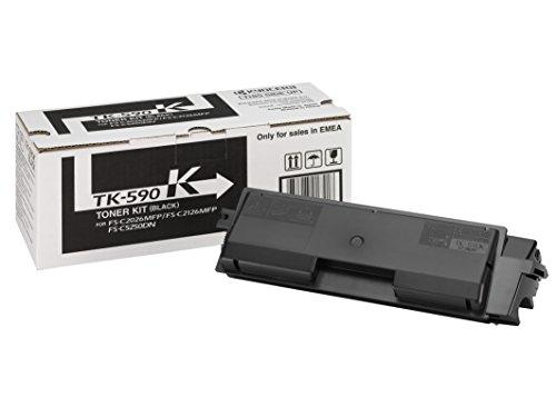 Kyocera 1T02KV0NL0 TK-590K Tonerkartusche 7.000 Seiten, schwarz