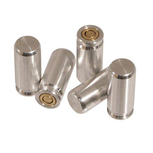 Waffenpflegewelt.de Pufferpatronen 9 mm P.A.K. (Schreckschusspistole) aus Aluminium (1er Packung oder 5er Packung) (1 Stück)
