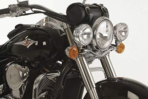 Hepco&Becker Twinlight Set Zusatzscheinwerfer - Chrom für Kawasaki VN 900 Classic/Vulcan