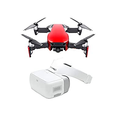 DJI Mavic Air Fly More Combo & DJI Goggles (Flame Red)