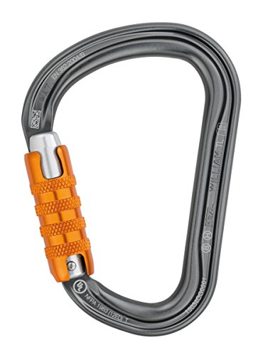 Petzl -Mosquetón Petzl William - Triac-Lock