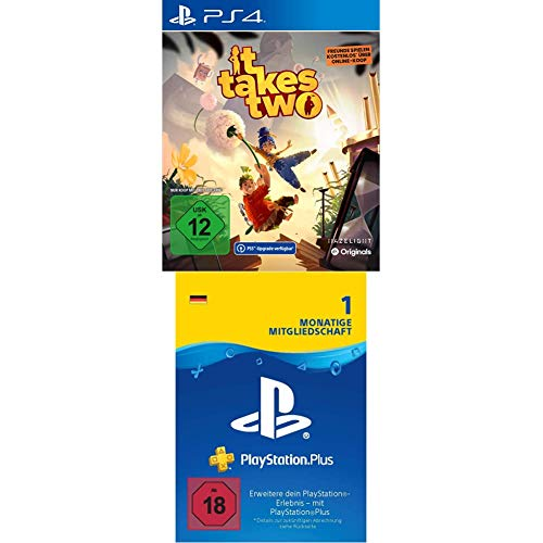 IT TAKES TWO - (inkl. kostenloser PS5 Version) - [Playstation 4] + PlayStation Plus Mitgliedschaft | 1 Monat | deutsches Konto | PS5/PS4/PS3 Download Code