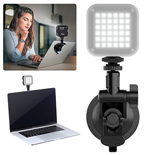 Kit Videoconferenza di illuminazione per Softbox illuminazione per chiamate con zoom Illuminazione video bicolore per Streaming light laptop Telecomando Self broadcasting e Live