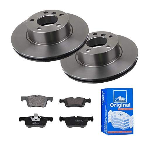 2 Bremsscheiben Ø300 Belüftet + Bremsbeläge ATE Vorne P-A-01-01013 Bremsanlage