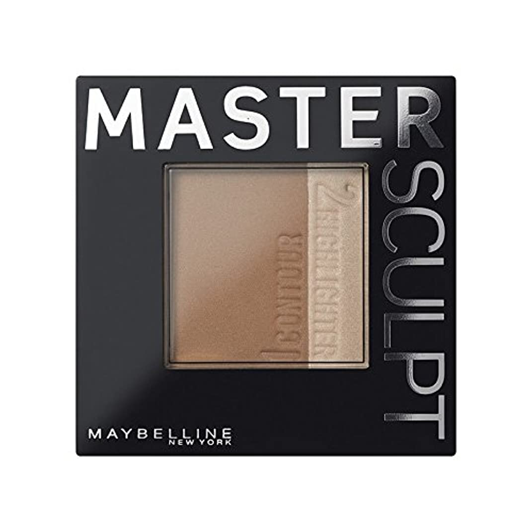 とティームリングレットなくなるMaybelline Master Sculpt Contouring Foundation 01 Light/Med (Pack of 6) - 土台01光/ を輪郭メイベリンマスタースカルプト x6 [並行輸入品]