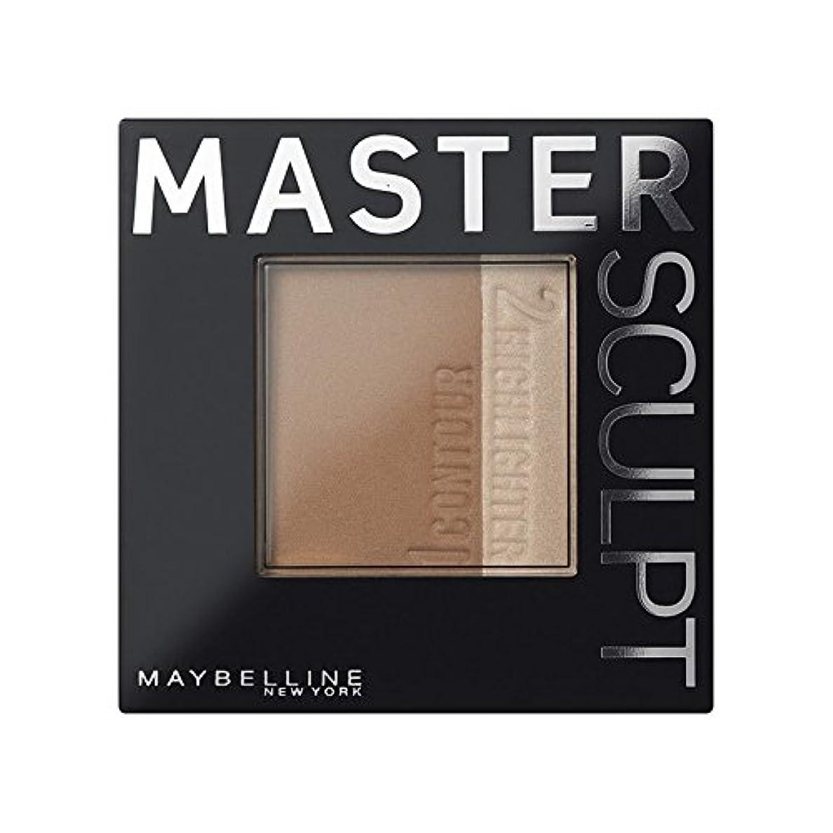乱闘台風一定土台01光/ を輪郭メイベリンマスタースカルプト x2 - Maybelline Master Sculpt Contouring Foundation 01 Light/Med (Pack of 2) [並行輸入品]