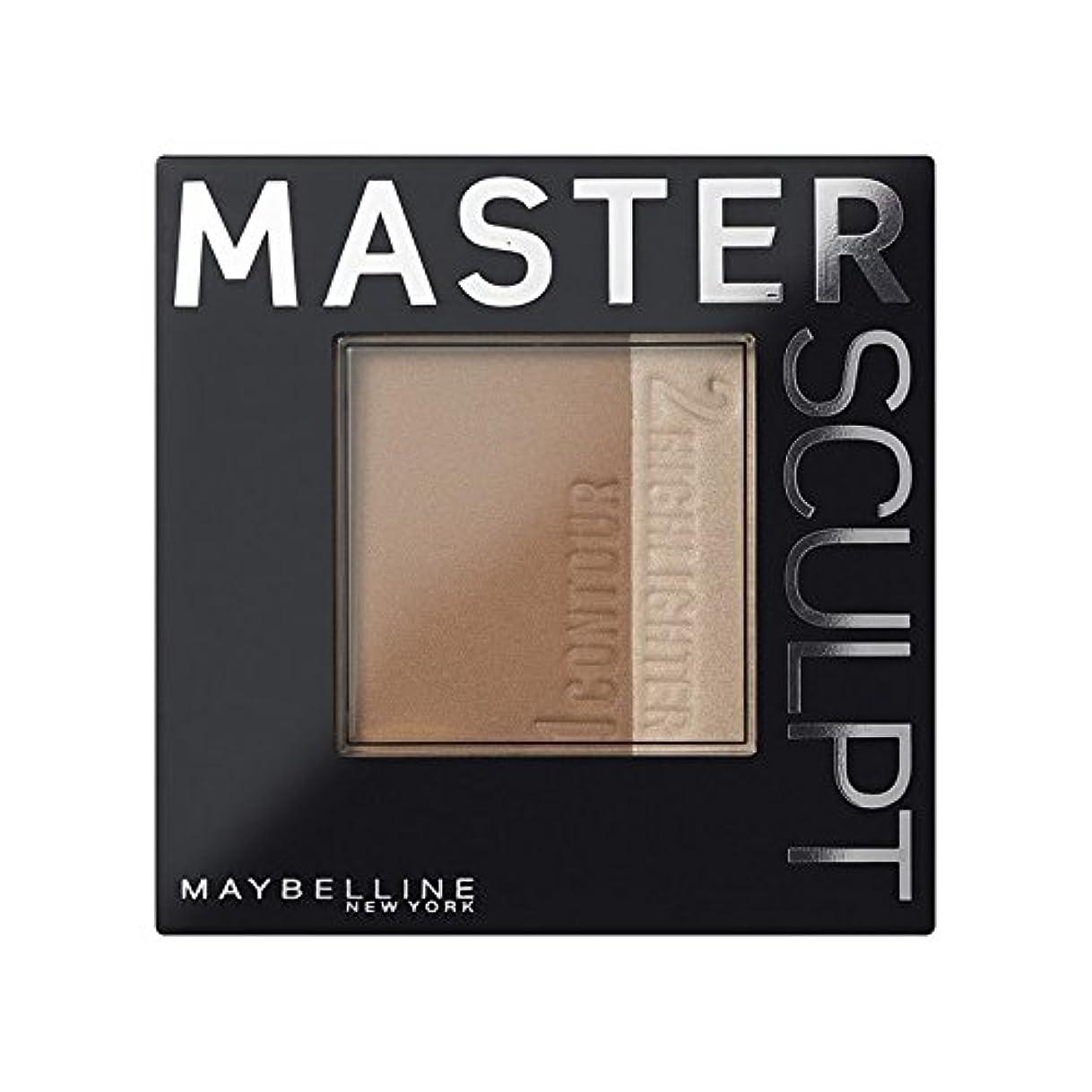 証言する上げるぐったり土台01光/ を輪郭メイベリンマスタースカルプト x4 - Maybelline Master Sculpt Contouring Foundation 01 Light/Med (Pack of 4) [並行輸入品]