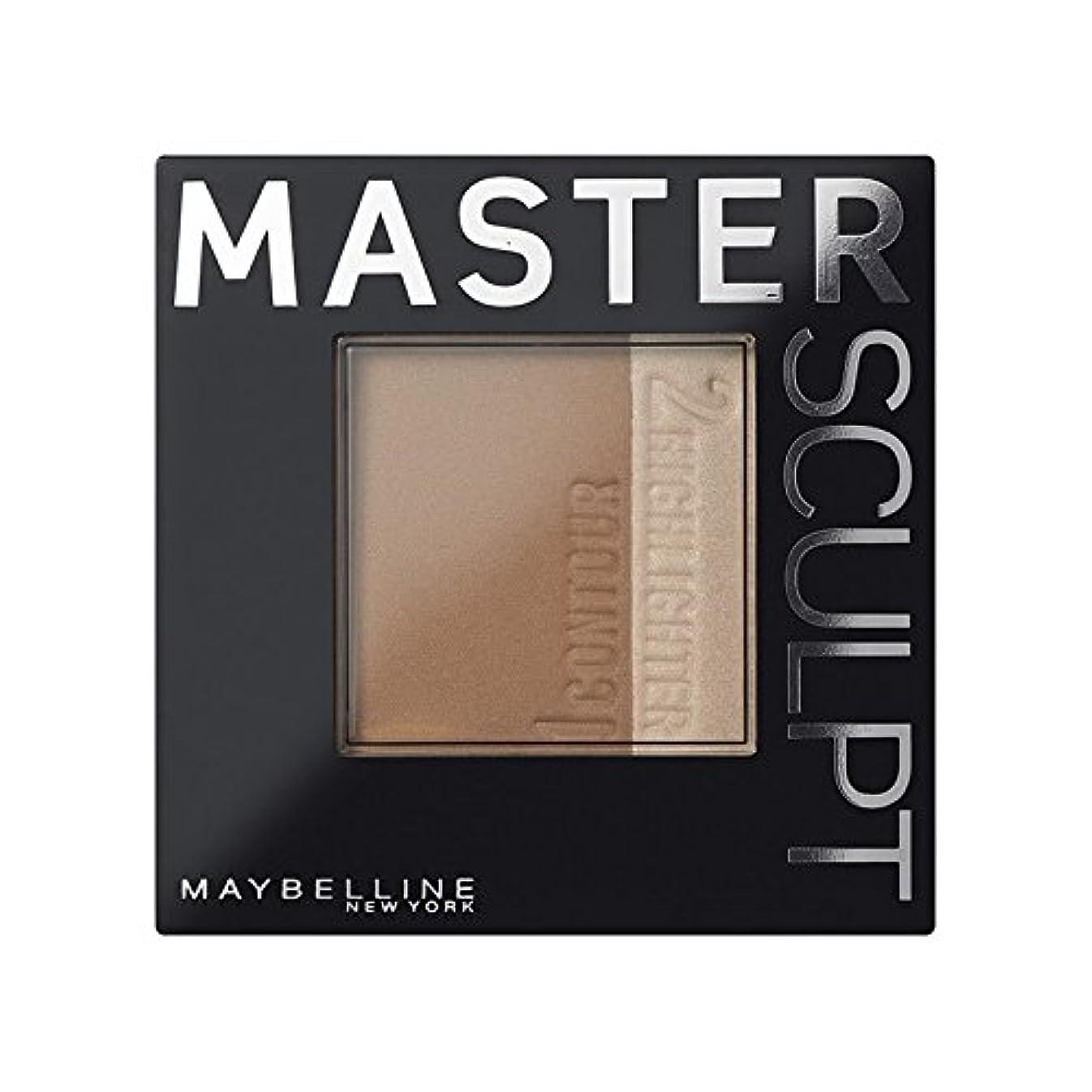 増幅シソーラスゴミMaybelline Master Sculpt Contouring Foundation 01 Light/Med (Pack of 6) - 土台01光/ を輪郭メイベリンマスタースカルプト x6 [並行輸入品]