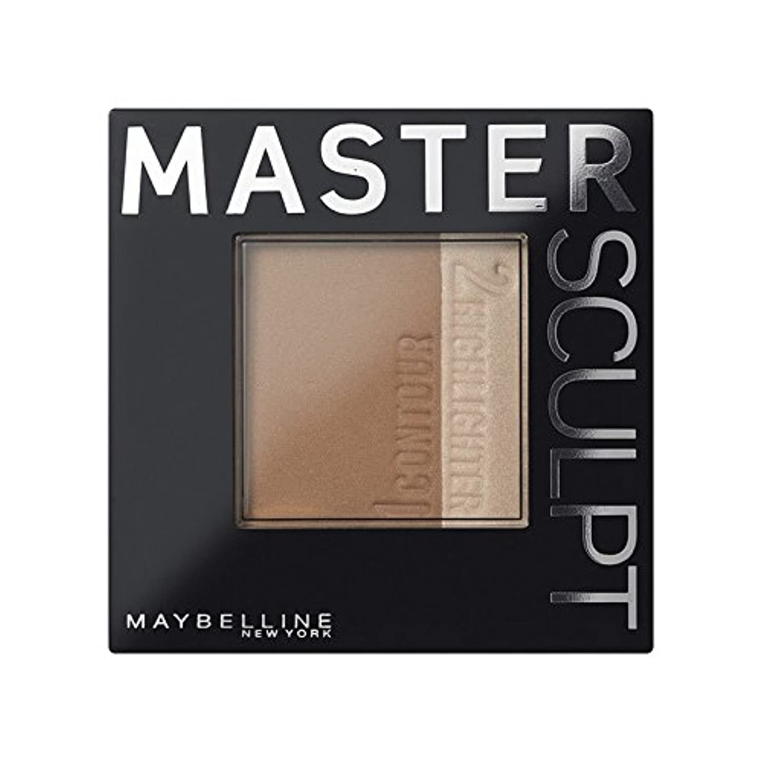 逆さまにその間療法土台01光/ を輪郭メイベリンマスタースカルプト x2 - Maybelline Master Sculpt Contouring Foundation 01 Light/Med (Pack of 2) [並行輸入品]