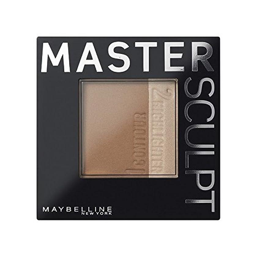 うめき円形精査土台01光/ を輪郭メイベリンマスタースカルプト x4 - Maybelline Master Sculpt Contouring Foundation 01 Light/Med (Pack of 4) [並行輸入品]
