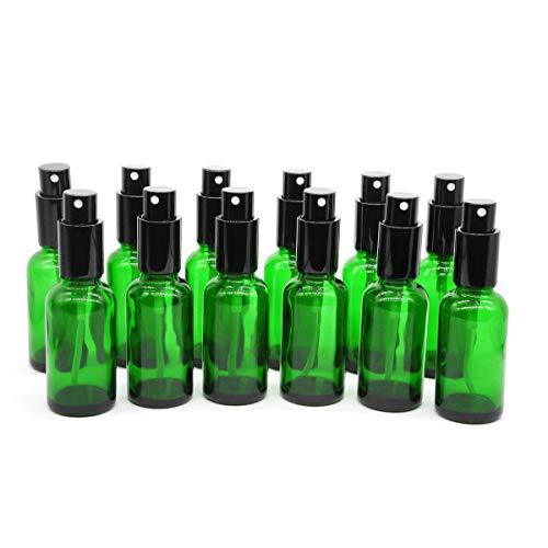 YIZHAO Yizhao grün leer sprühflasche glas 30ml mit [zerstäuber] sprühflasche klein fürÄtherisches Ölaromatherapie-gemischeparfümmassagechemische flüssigkeitapotheker- 18pcs