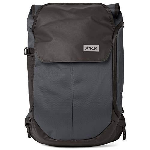 AEVOR Bike Pack - erweiterbarer Fahrrad-Rucksack, wasserfest, Rückenbelüftung, Laptopfach - Proof Petrol - Petrol