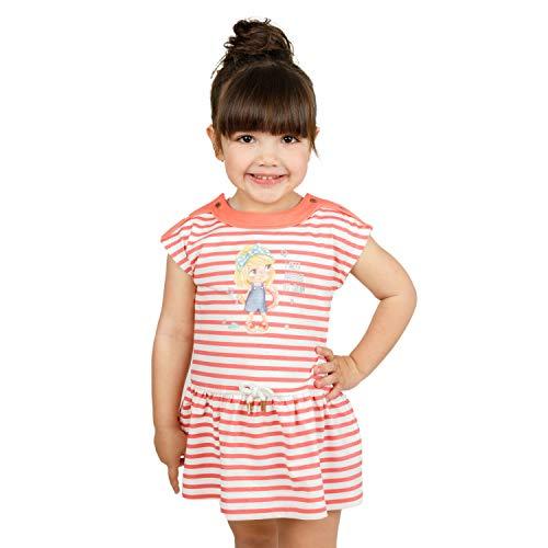 Charanga VOGGING Vestido, Multicolor (Listado 852), 62 (Tamaño del Fabricante:3-6) para Bebés