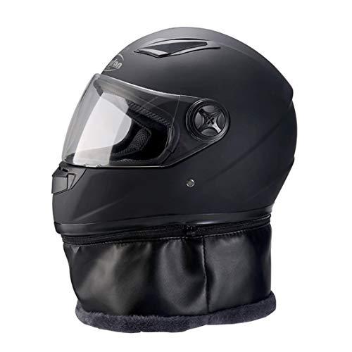 ATK Invierno Cálido Casco de Motocicleta Eps Buffer Forro Parabrisas Antiniebla Ventilación Respirable con Collar Térmico Extraíble