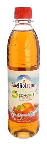 MEHRWEG Adelholzener Alpenquellen Apfel-Trauben-Schorle (500 ml) - Bio