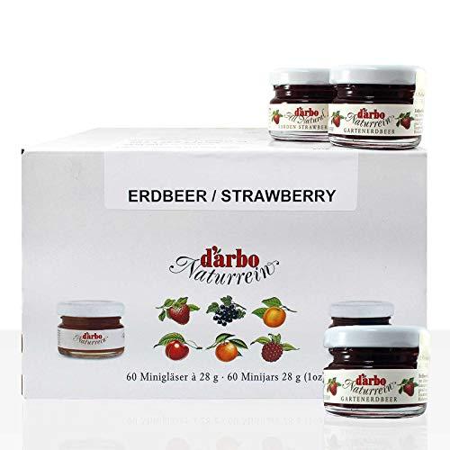 Darbo Konfitüre Erdbeer 60x 28 g