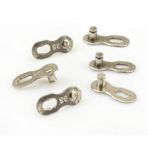 6pcs 3 pares de cadenas de bicicleta conector para 9 velocidades Quick Master Link Joint Chain robusto y práctico diseño bonito