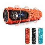 TOPLUS Rullo in schiuma vibrante elettrico per massaggi a 5 velocità Electric Foam Roller per rigenerazione muscolare, auto-massaggiante, 32 cm