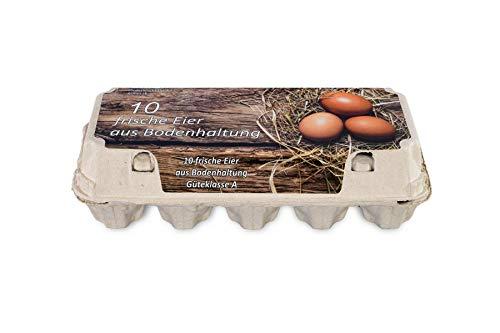 Funny 10er Eierkarton Bodenhaltung 154 Stück