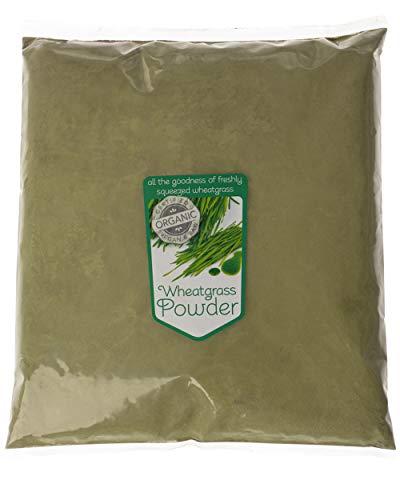 Organic Wheatgrass Powder by Super Foodies (1KG)