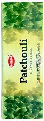 HEM Incense Sticks - Fragrance Patchouli - 120 Sticks