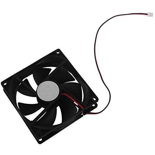 Baalaa 90mm x 25mm 9025 2pin 12V Sin escobillas Caja de la PC Refrigerador de la CPU Ventilador de refrigeracion