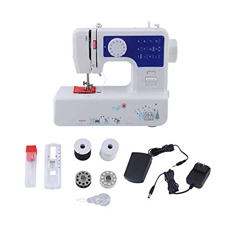 Fantastic Deal! QIYUE Portable Sewing Machine, 12 Stitches 2 Speed Heavy Duty Sew Machine, Automatic...