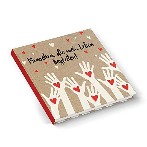 Logbuch-Verlag - Libro de amistad (21 x 21 cm, para adultos y niños)