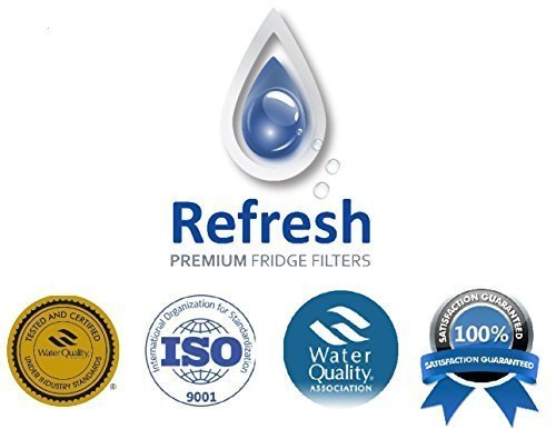 Kenmore 46-9690 / LG LT700P, ADQ36006101 Compatible Refrigerator Water Filter - fits Kenmore ADQ36006102 & LG Refrigerator Water Filters by Refresh