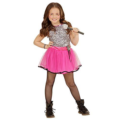 WIDMANN- Disfraz Infantil Pop Star, Multicolor, 140 cm (4903