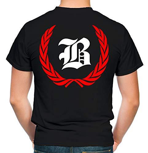 Berlin Kranz T-Shirt | Liga | Trikot | Fanshirt | Bundes | M1-rot (S)