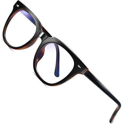Joopin Gafas Luz Azul para Ordenador Gafas de Protección Anti Fatiga UV para Hombres y Mujeres Lentes con Filtro de Luz Azul
