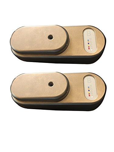 Gatelock Van GVM G4MB2 Lot de 2 cadenas de sécurité, antivol pour véhicule utilitaire de taille moyenne - Clé unique