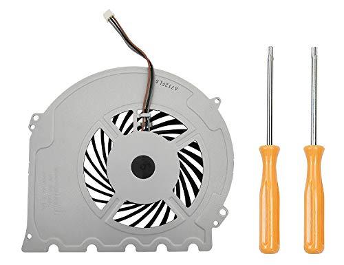 Replacement Internal Cooling Fan KSB0912HD Compatible with PlayStation 4 PS4 Slim CUH-2015A CUH-2016A CUH-2017A CUH-20xx CUH-21xx CUH-22xx Models + Tool Kit
