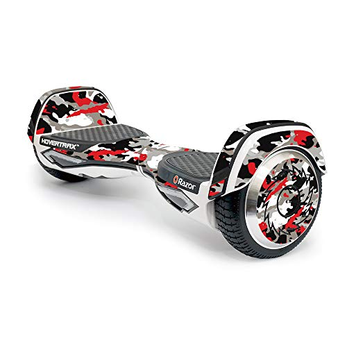 Mightyskins Skin Compatible With Razor Hovertrax 2.0 Hover Board - Red Camo | Protective, Durable, And Unique Vinyl Decal Wrap Cover | Easy To Apply, Remove, And Change Styles | Made In The Usa