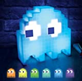 Pac Man and Ghosts Light, Pac Man Collectable Figure Lamp, Induction Music Color Changing Lights, Colors React to Music - USB Powered Light for Birthday, Friend, Family Party