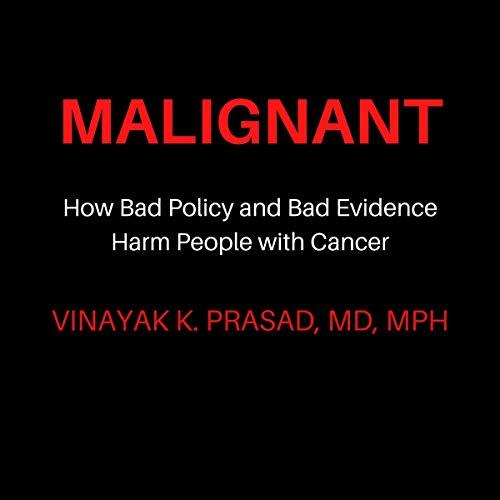 Diseño de la portada del título Malignant