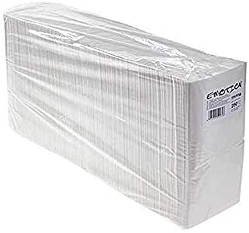 Efalock Professional Lot de 250 serviettes en papier Blanc 40 x 40 cm