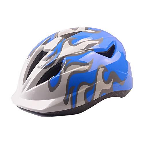 JuneJour Fahrradhelm Kinderfahrradhelm Schutzhelm SichererKinder-Helm rollerhelm mädchen kinderfahrradhelm für Mountainbike Scooter Jungen Bike Helmet