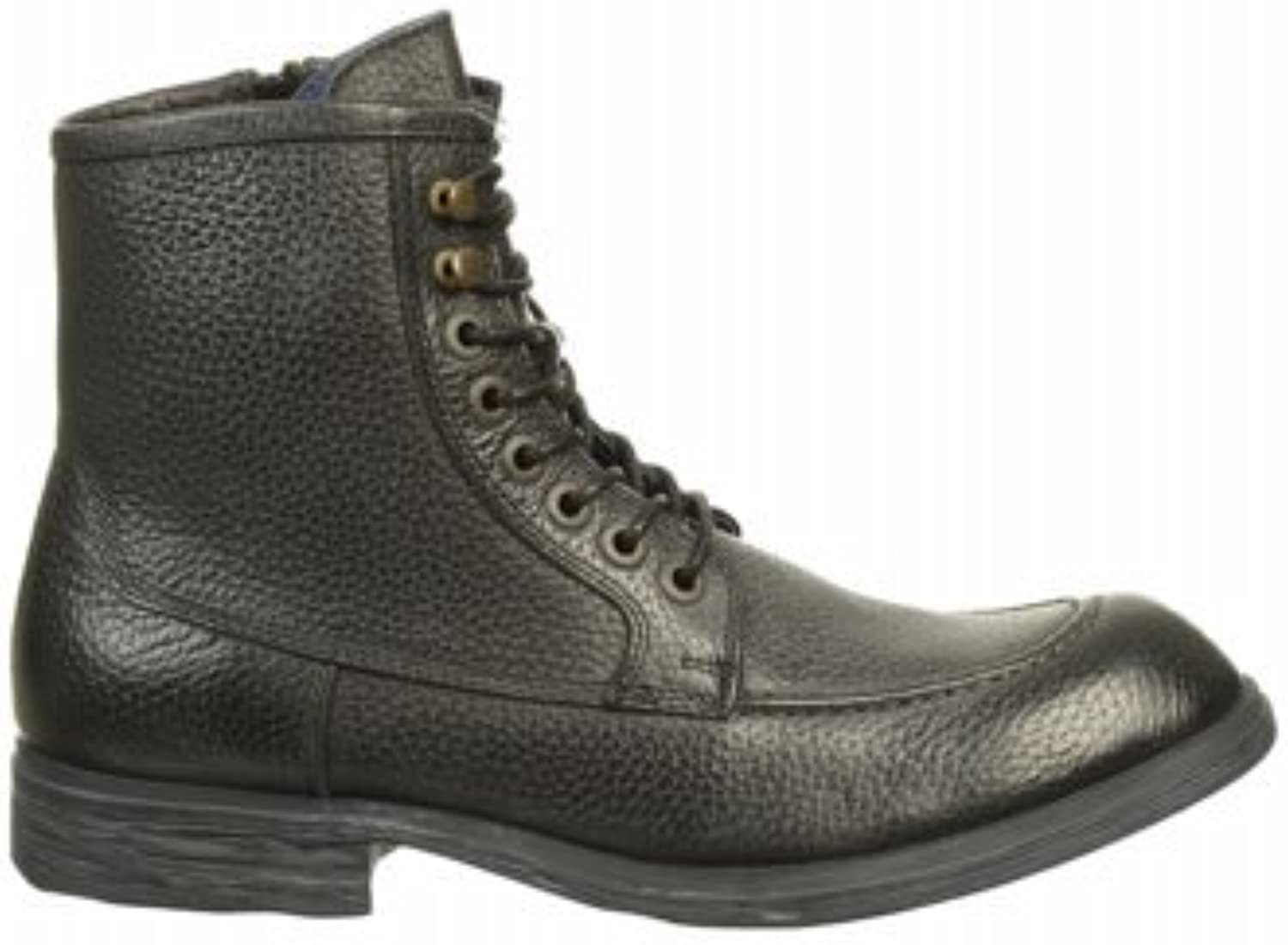 Kenneth Cole New York Men's Work Hours RM 79761 Leather Boots Black Size 8