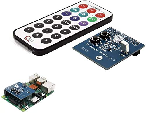 MUKUAI31 DIY kit Module IR Infrared Receiver and Transmitter Expansion Board Fit for Raspberry Pi Display Accessories DIY