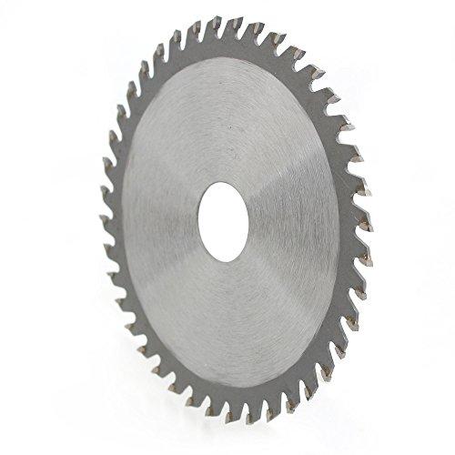 """Hoja de sierra de carburo de 115 mm, amoladora angular de 4,5\"""", hoja de sierra circular para cortar madera, plástico, 40 dientes, 22,2 mm de diámetro"""