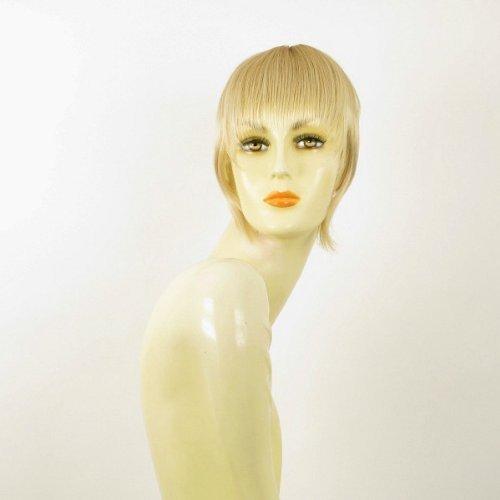 frange à clip cheveux blond doré méché blond très clair ref: 20 en 24bt613