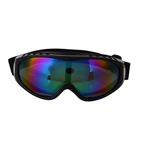 Forfar Motociclismo Gafas Los anteojos Gafas de esquí Al aire libre Ojo de protección Viento airsoft