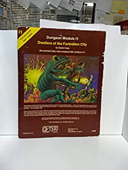 I1 Dwellers of the Forbidden City - Book  of the Advanced Dungeons and Dragons Module #C4