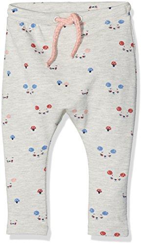 TOM TAILOR Kids 68292650021 Pantalon, Gris (Greyish Beige Melange 8353), 80 Bébé Fille