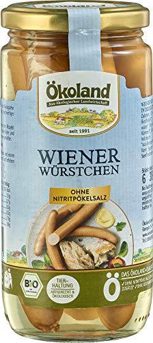 ÖKOLAND Bio Wiener Würstchen (6 x 380 gr)